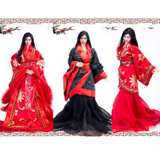 VIMI 1/6 Ancient Wedding Dress Chinese Clothing Han Dynasty Female Clothes