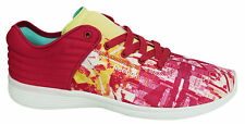 Reebok Padded Textile Lace Up Womens Trainers Running Shoes M47905 D9
