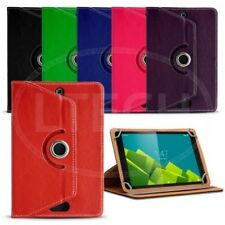 Fits Android 9 inch Tablet - 360 Rotating Leather Style Universal Tablet Case