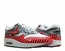 Nike Air Max 1 LHM Los Primeros White/Red Men's Running Shoes AH7740-100
