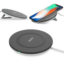 Wireless Fast Charger Charging Mat Charging Dock Pad for iPhone X 8 Plus lot S5C