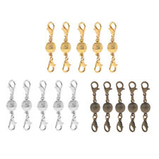 5 Ball Shaped Magnetic Clasps Connectors Jewelry DIY Findings for Necklace