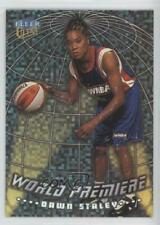 1999 Fleer Ultra WNBA World Premiere 2WP Dawn Staley Charlotte Sting (WNBA) Card