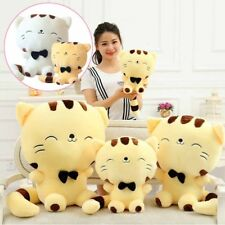 Lovely Plush Stuffed Toy Fortune Cat Kitty Tail Gift Doll High Sofa Pillow