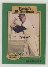 1987 Hygrade Baseball's All-Time Greats #WIMA Willie Mays San Francisco Giants