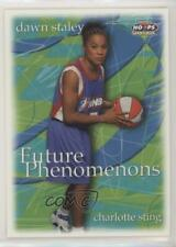 1999 WNBA Hoops Skybox 106 Dawn Staley Charlotte Sting (WNBA) RC Basketball Card
