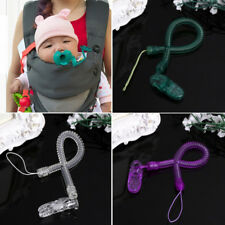 Baby High quality Chain Clip Holders Dummy Pacifier Soother Nipple Elastic force
