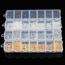 A Box of Ear Wire Eye Pins Lobster Clasp Earring Findings Jewelry Making Kit