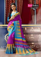 Indian Sari Pakistani Saree Dress Designer Bollywood Ethnic Party Sant Keshri-1