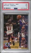 1993-94 Fleer Ultra All-NBA Team #2 Michael Jordan PSA 5 EX Chicago Bulls Card