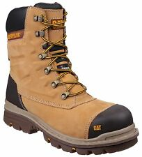 CAT Caterpillar Premier Water Resistant Safety Honey S3 Mens Work Boots UK6-12
