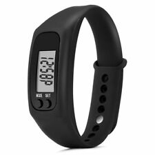 Watch Pedometer Calorie Counter Digital LCD Walking Distance Free Delivery NEW