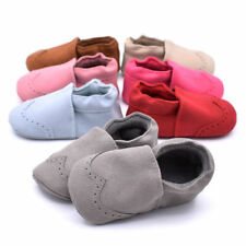 Boy Girl Sneaker Soft Sole Crib Shoes Newborn to 18M Infant Toddler Baby uni