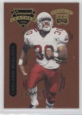 1996 Playoff Contenders Leather 30 Leeland McElroy Arizona Cardinals Rookie Card