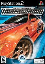 Need for Speed: Underground SONY PS2 PLAYSTATION 2 RACING GAME! L@@K HERE!