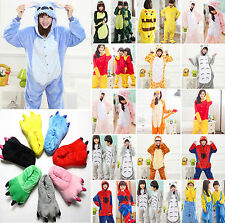 Kids Adult Warm Fleece Kigurumi Cosplay Costume Set Halloween Evening Outfit Set