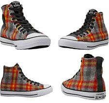 Converse WOOLRICH Wool Winter Color Plaid Lined Hightop Shoes Unisex DISC NEW
