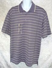 Izod Mans Polo Shirt Pima Cool Cotton Ultra Wicking Striped size XL NWT