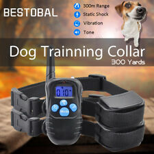 Pet Trainer Rechargeable Remote Training Shock Collar For Small Medium Large Dog