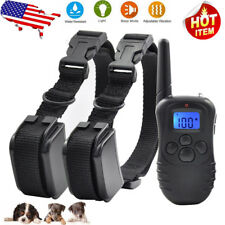 300m Electric Waterproof Rechargeable LCD Remote Training Shock Collar For Dogs