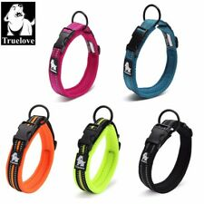 Truelove® Adjustable Nylon Dog Collar Mesh Padded 3M Reflective For Dogs Pets