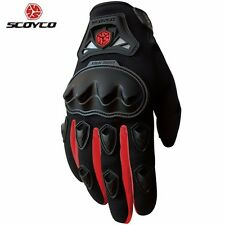 SCOYCO MC29 Motorcycle Motocross Racing Full Finger Gloves Protective Gear