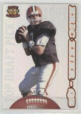 1995 Pacific Prisms #212 Eric Zeier Cleveland Browns Rookie Football Card