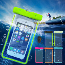 Underwater Waterproof Float Pouch Bag Case for Smartphone iPhone Galaxy Phone AU