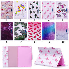 For iPad/Samsung Tablet New Pattern Stand Wallet PU Leather+TPU Flip Case Cover