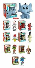 Funko POP! Dr. Seuss - Grinch Max Horton Cat In The Hat Sam I Am Fox NEW