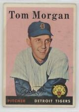 1958 Topps #365 Tom Morgan Detroit Tigers Baseball Card