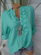 Joe Browns Tunic Tunic Blouse gr. 40 Bis 58 with Lace (646) Canvas Percentage
