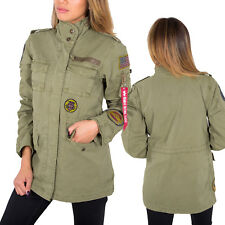 Alpha Industries Women's Jacket Huntington Patch Field XS S M L XL NEW
