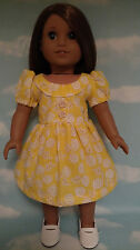 "Dress handmade to fit 18"" American Girl Doll 18 inch Doll Clothes 14a"