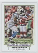 2010 Topps Magic Magical Moments #MM-9 LaDainian Tomlinson San Diego Chargers