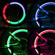 Colorful Bike Light Bicycle Cycling Spoke Wire Tire Tyre Silicone LED Wheel Lamp
