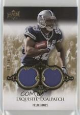 2008 Upper Deck Exquisite Collection Dual Patch #EP-5 Felix Jones Dallas Cowboys