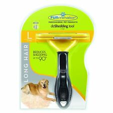 Furminator deShedding Tool for Giant,Large,medium,small Dogs,Long and Short Hair
