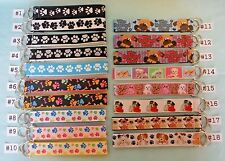 Key Chains Key Fobs -- PAW PRINTS PUPPIES DOGS & CATS *Ship Up to 10 for $1.98!*