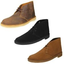 Mens Clarks Originals Leather / Suede Lace Up Ankle Boots - Desert Boot