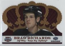 2001 Pacific Calder Collection NHL All-Star Game #C-6 Brad Richards Hockey Card
