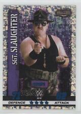 2017 Topps WWE Slam Attax 10th Edition #42 Icon Holofoil Sgt Slaughter Sgt. Card