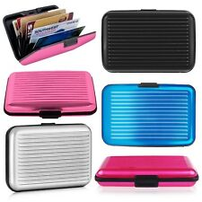 Fashion Aluminum Stripe Business Credit ID Card Case And Name Card Holder