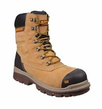 CAT Caterpillar Premier Safety S3 Work Water Resistant Mens Honey Boots UK 6-12