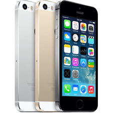 "Apple iPhone 5S - 16 32 64GB ""Unlocked"" GSM Smartphone Gold Gray Silver Graded"