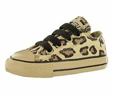 Converse All Star Chuck Taylor Animal Print Leopard Ox Baby Boys Casual Size US