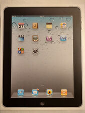 Apple iPad 1st Generation A1219 16GB, Wi-Fi, 9.7in - Black Excellent Condition