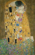 GUSTAV KLIMT THE KISS DER KUß POSTER 61x91cm BRAND NEW PRINT 1907-1908 ART