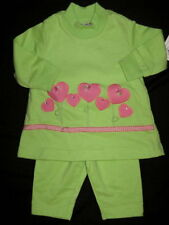 NWT $48 The Bailey Boys 3 6 Mo Heart Set Outfit Knit Girl Dress Valentines Day