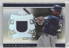 2007 Upper Deck UD Game Materials Patch #UD-PF Prince Fielder Milwaukee Brewers